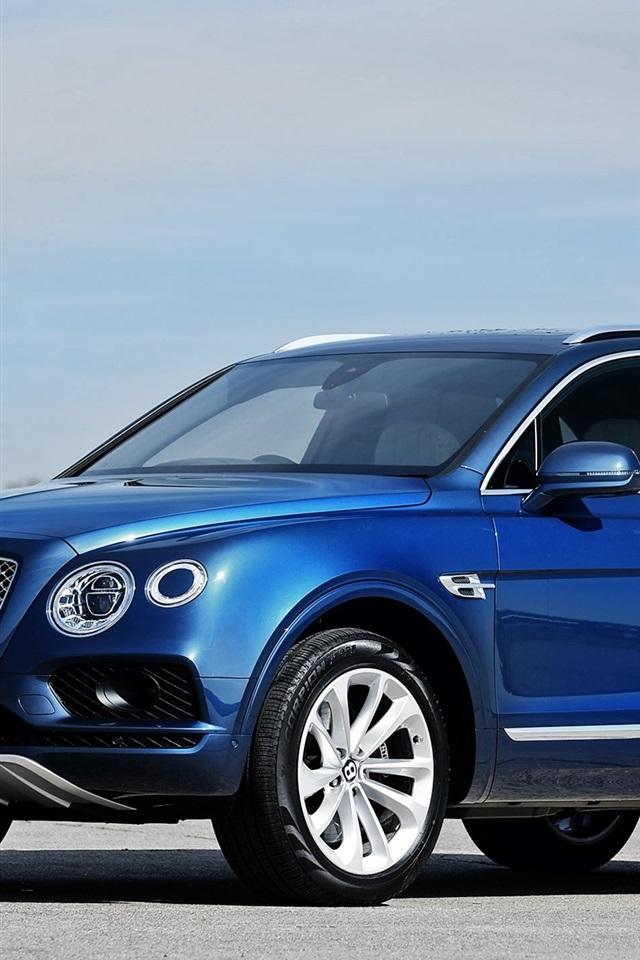 Santa Fe Suv >> Wallpaper Bentley Bentayga blue SUV car 1920x1440 HD ...