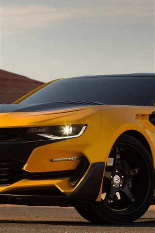 iPhone Wallpaper Bumblebee autobot, Transformers: The Last Knight 2017