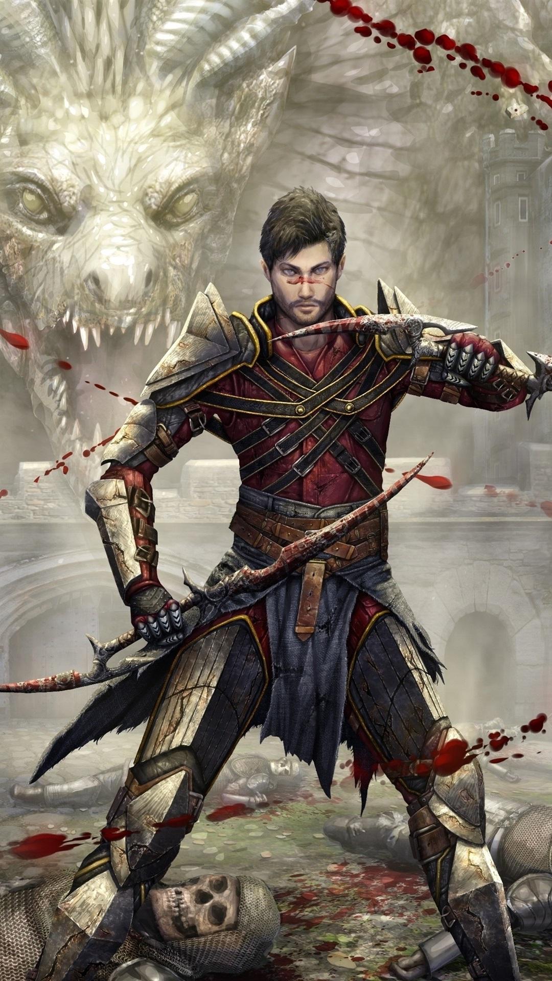Dragon Age Pc Game 1080x1920 Iphone 8 7 6 6s Plus Wallpaper