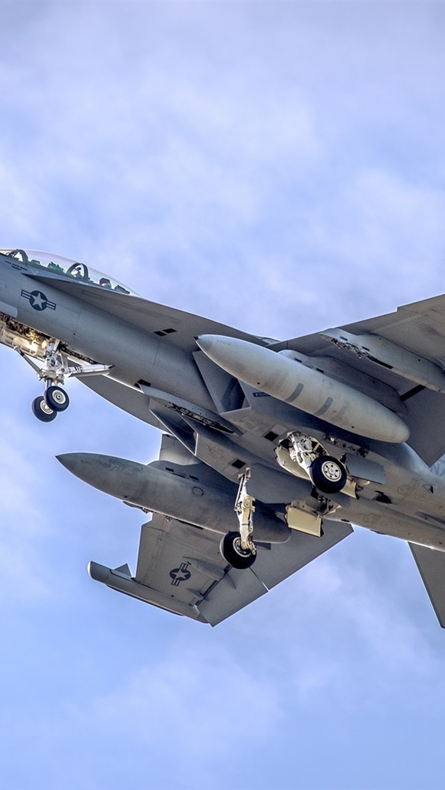 Fondos De Pantalla Vuelo F 18 De Combate En El Cielo