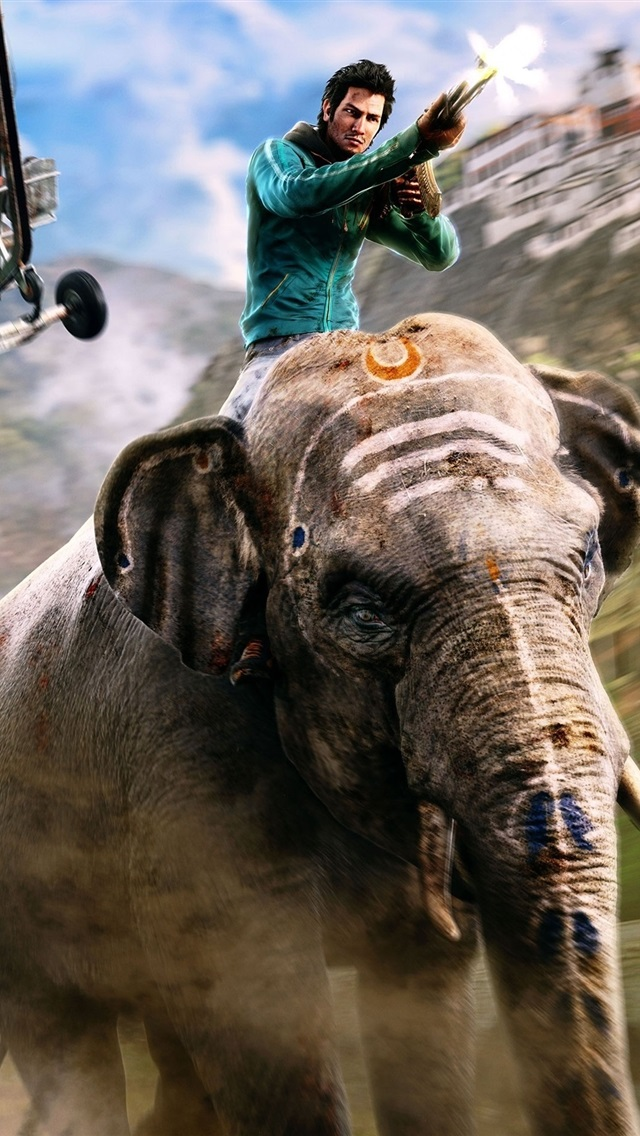 Far Cry 4 Ps4 Games Elephant 750x1334 Iphone 8 7 6 6s Wallpaper Background Picture Image