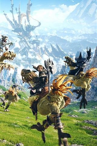 iPhone Wallpaper Final Fantasy 15, PC game