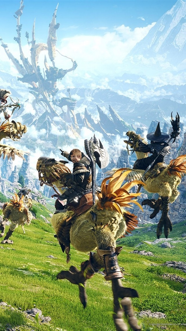Wallpaper Final Fantasy 15, PC game