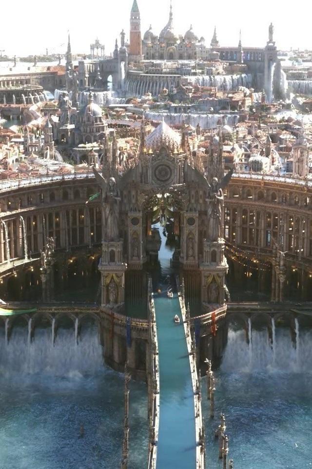 Final Fantasy XV, dream world 640x960