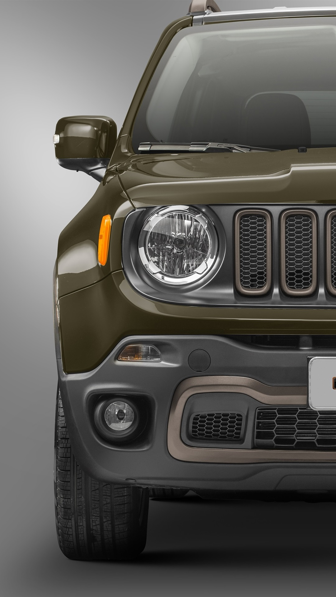 Jeep Renegade 75th Anniversary Car Front View 1080x1920
