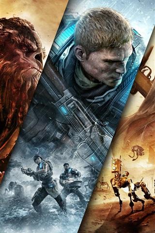 iPhone Wallpaper Jump Ahead, Xbox games