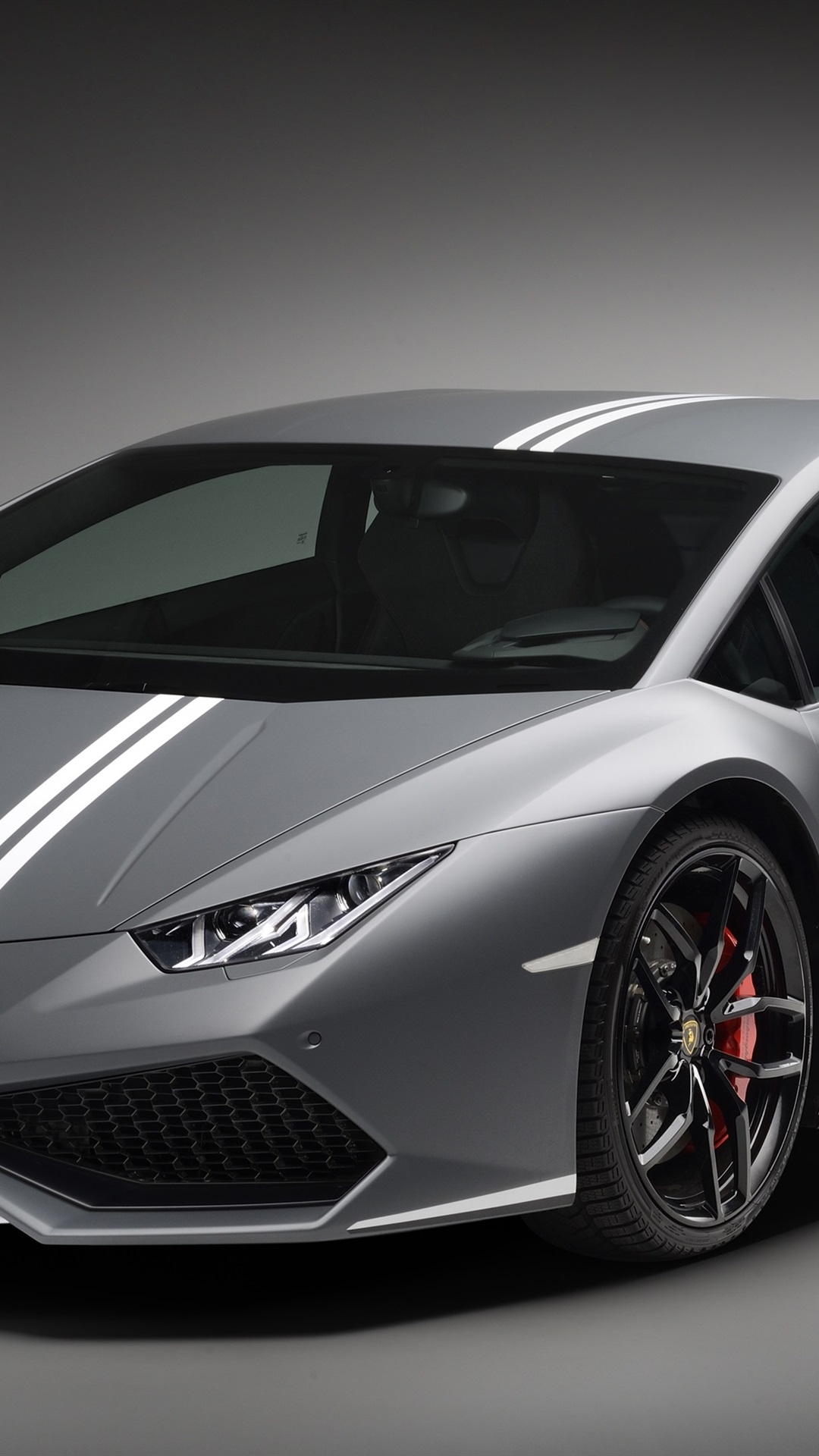 Lamborghini Huracan Lp 610 4 Gray Supercar 1080x1920 Iphone