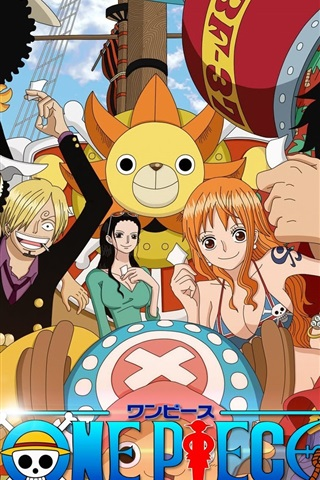 iPhone Wallpaper One Piece anime
