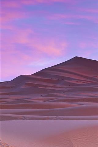 iPhone Wallpaper Sahara Desert, palm trees, Morocco