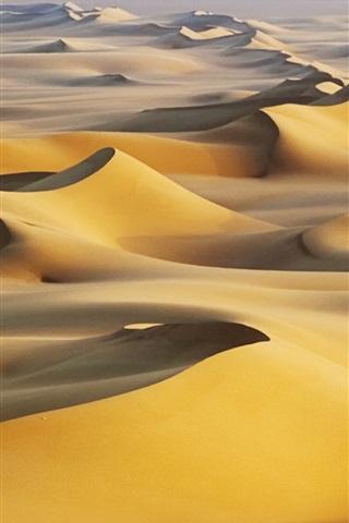 iPhone Wallpaper Sand dunes, hot, White Desert, Egypt