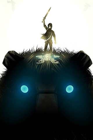 iPhone Wallpaper Shadow of the Colossus, PC game