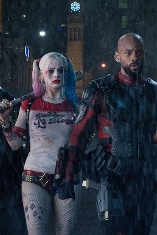 iPhone Wallpaper Suicide Squad, DC movies