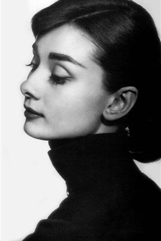 iPhone Wallpaper Audrey Hepburn 03