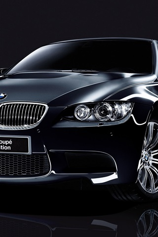 iPhone Wallpaper BMW M3 Coupe Special Edition black car