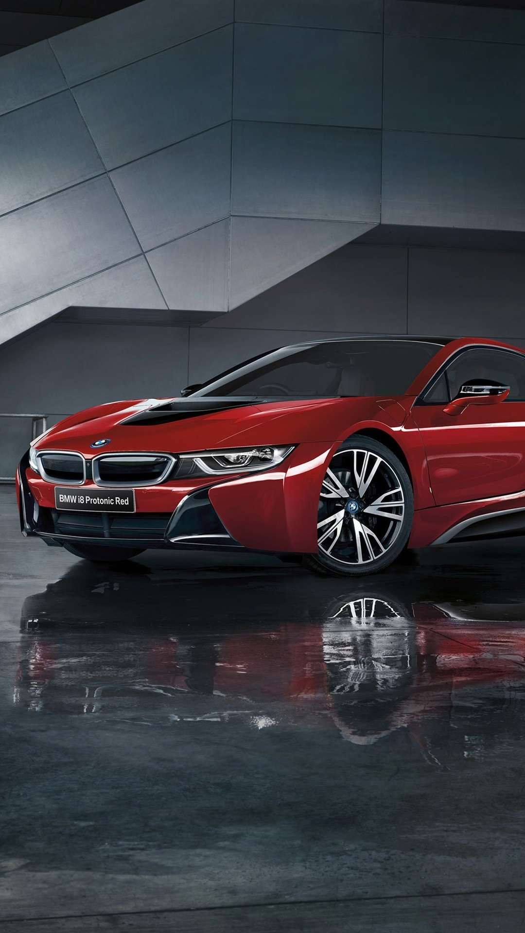 Bmw I8 Protonic Red Car 1080x1920 Iphone 8 7 6 6s Plus
