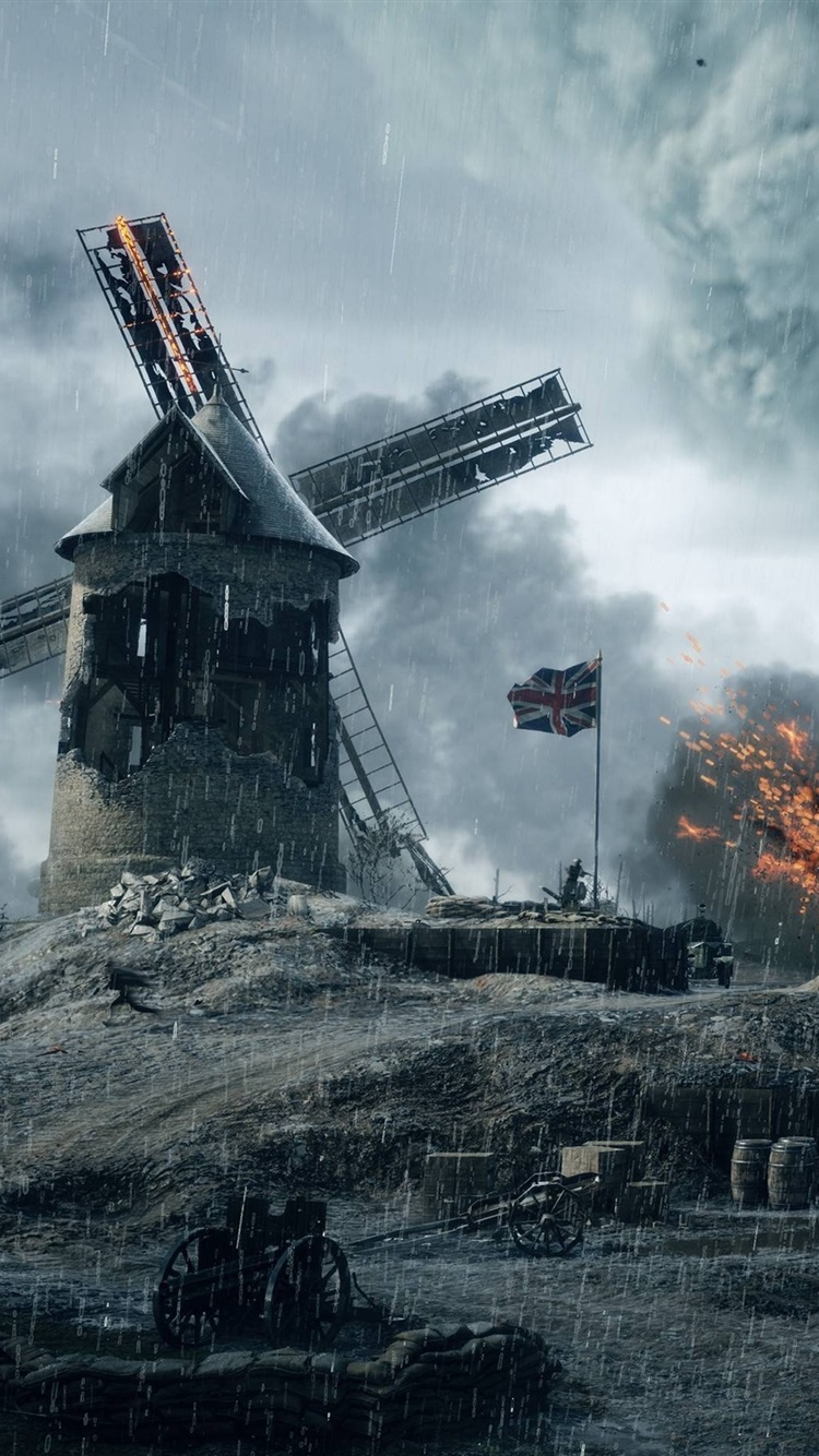Battlefield 1 2016 Xbox Games Screenshot Rainy Day