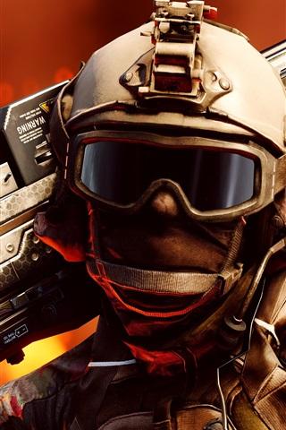 iPhone Wallpaper Battlefield 1, sniper, 2016 game