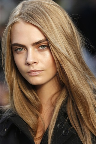 iPhone Wallpaper Cara Delevingne 03