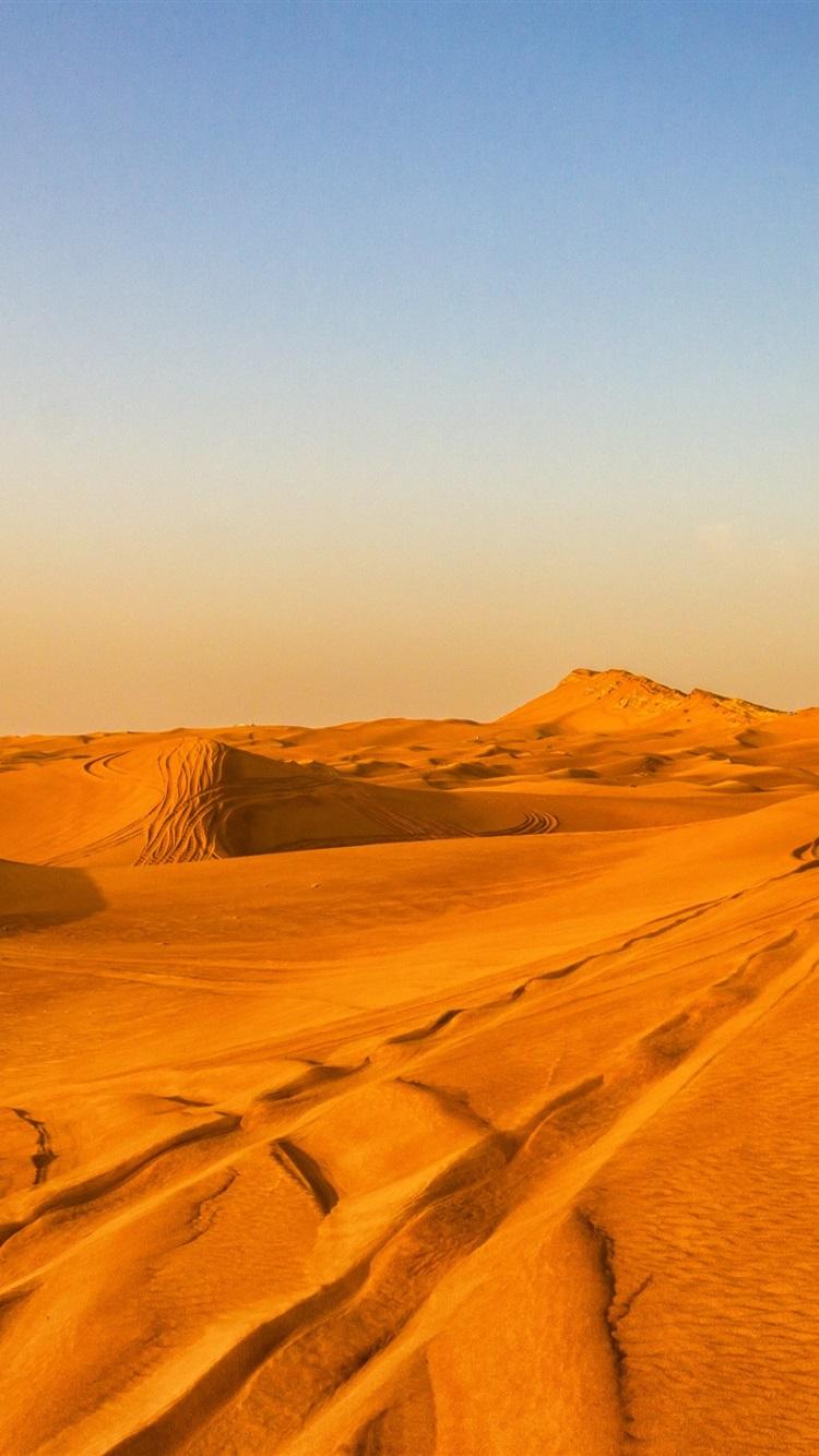 Wallpaper Desert Hot Sands Dubai 3840x2160 Uhd 4k