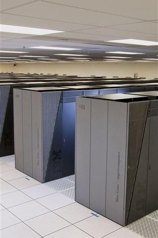iPhone Papéis de Parede IBM Blue Gene dados supercomputador centro
