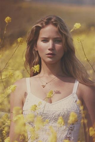 iPhone Hintergrundbilder Jennifer Lawrence 11