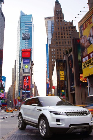 iPhone Wallpaper Land Rover LRX concept SUV car