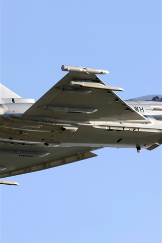 iPhone Wallpaper Multipurpose fighter, Eurofighter Typhoon
