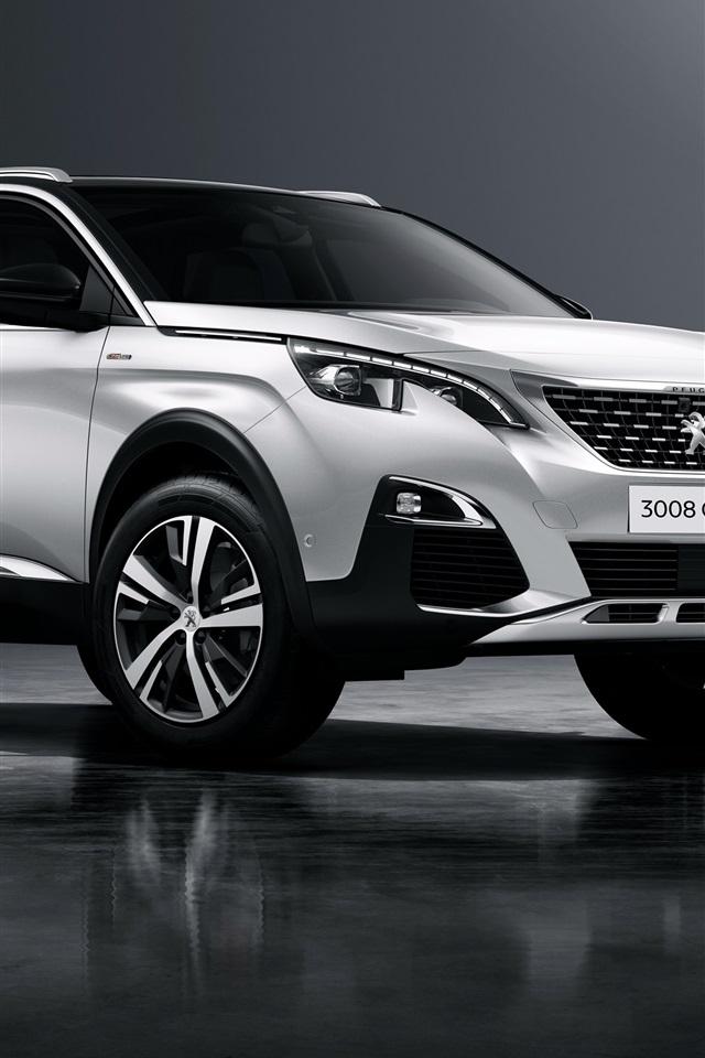 Fonds D 233 Cran Peugeot 3008 Gt Line Suv Voiture 3840x2160