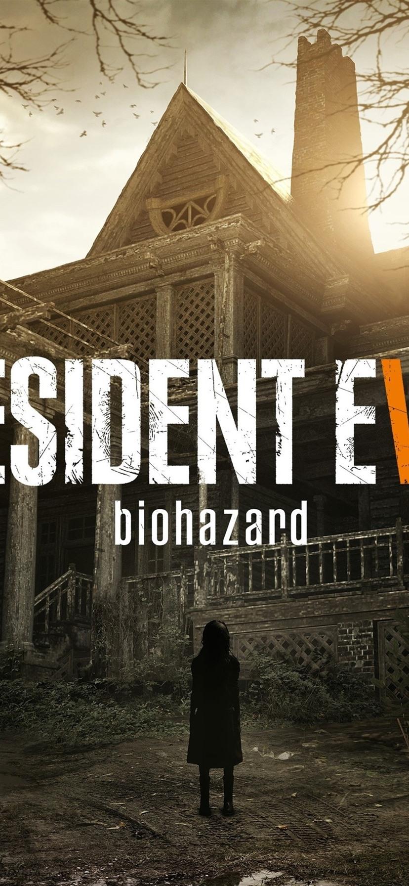 Resident Evil 7 1080x1920 Iphone 8766s Plus Wallpaper