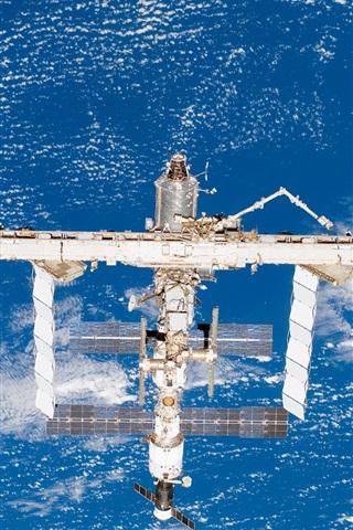 iPhone Wallpaper Satellites, space