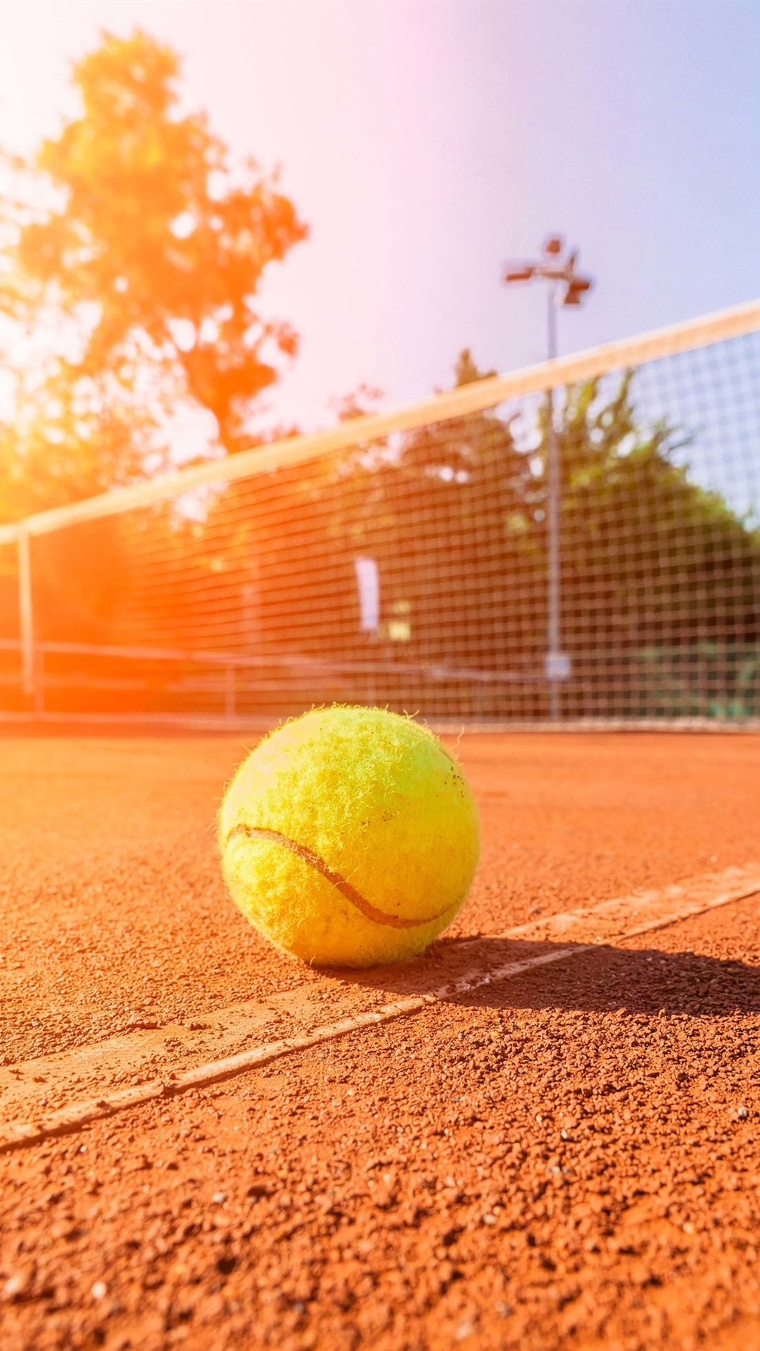 Sunny Day Summer Tennis Stadium Ground 1080x1920 Iphone 8 7 6 6s Plus Wallpaper Background Picture Image