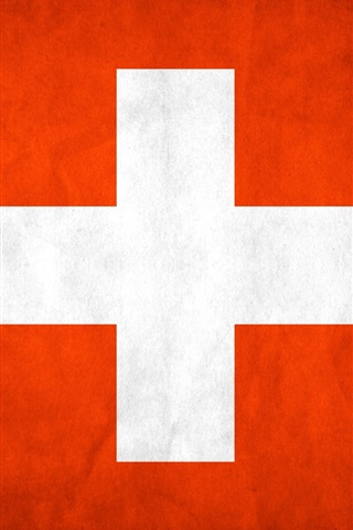 iPhone Wallpaper Switzerland flag