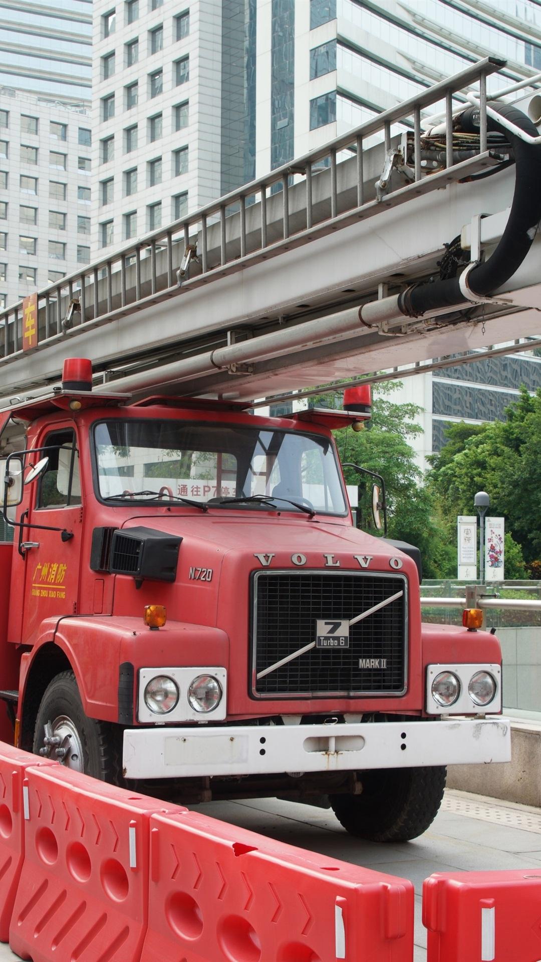 Volvo N720 Fire Truck 1080x1920 Iphone 8766s Plus