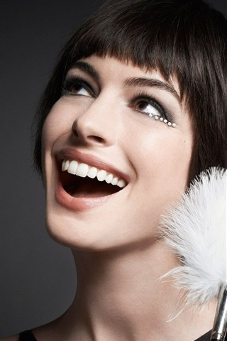 iPhone Wallpaper Anne Hathaway 14