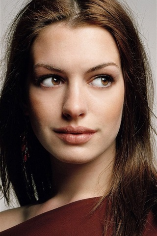 iPhone Wallpaper Anne Hathaway 16