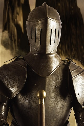 iPhone Wallpaper Armor, warrior