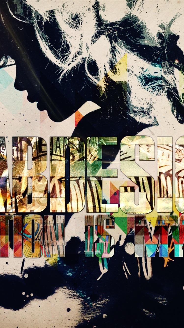Fonds Décran Créer Et En Profiter Design Coloré 750x1334