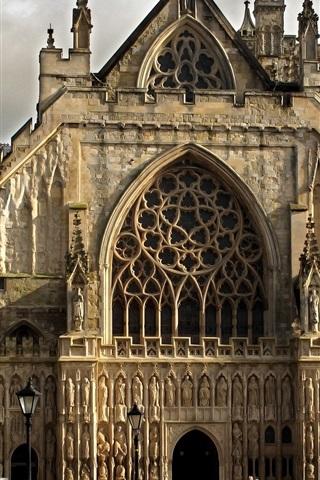 iPhone Wallpaper Gothic Church, England