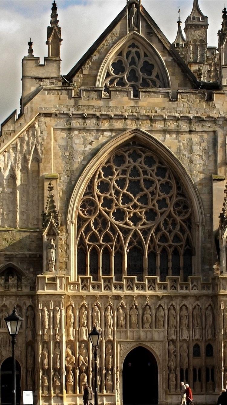 ゴシック様式の教会 イングランド 750x1334 Iphone 8 7 6 6s 壁紙