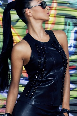 iPhone Wallpaper Nicole Scherzinger 17