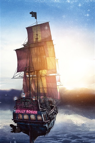 iPhone Wallpaper Peter Pan: Journey to Neverland