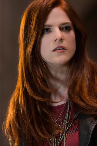 iPhone Wallpaper Rose Leslie, The Last Witch Hunter