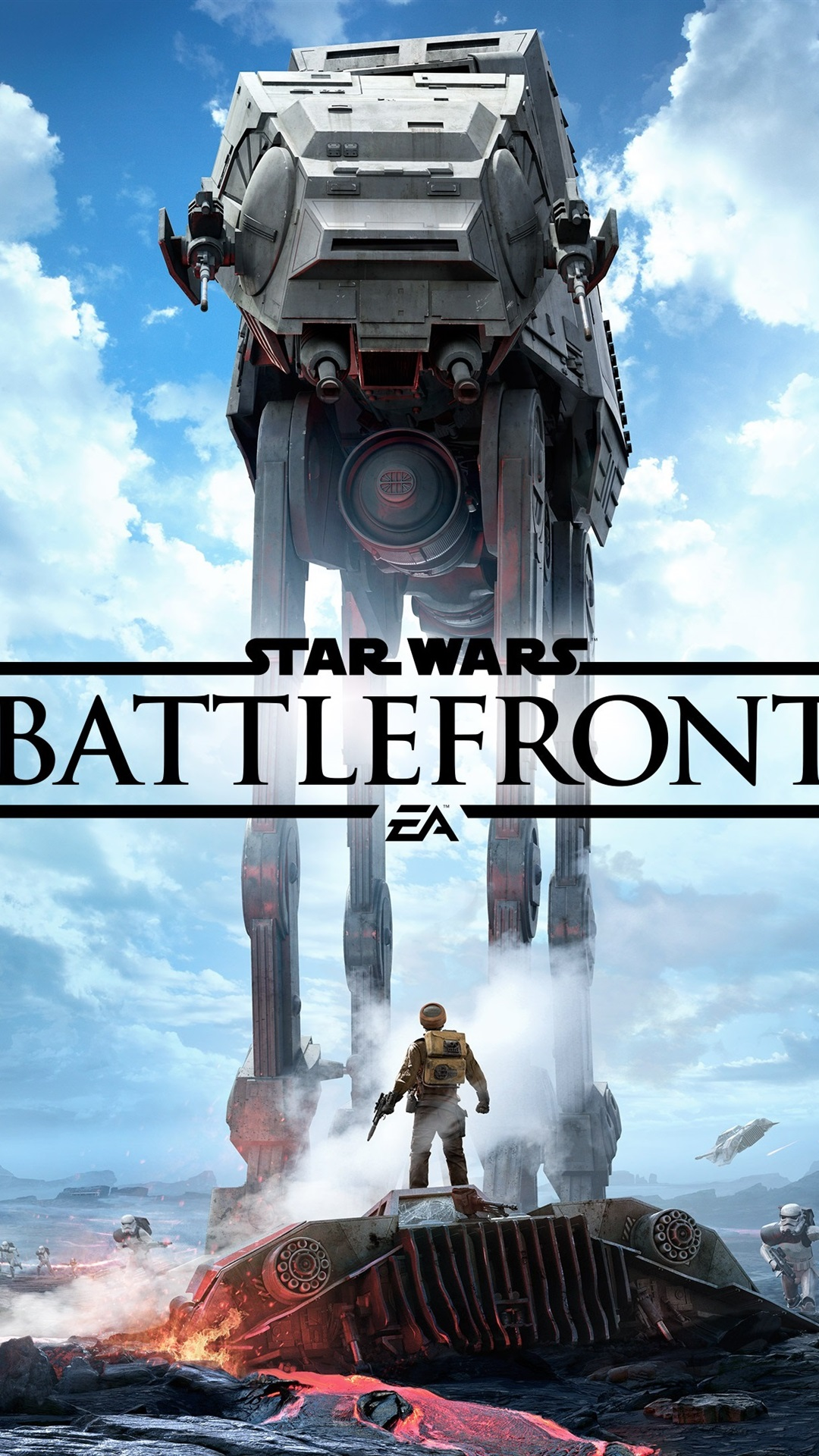 Star Wars Battlefront Ea Games 1080x1920 Iphone 8 7 6 6s Plus Wallpaper Background Picture Image