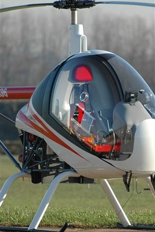 iPhone Papéis de Parede helicóptero ultralight