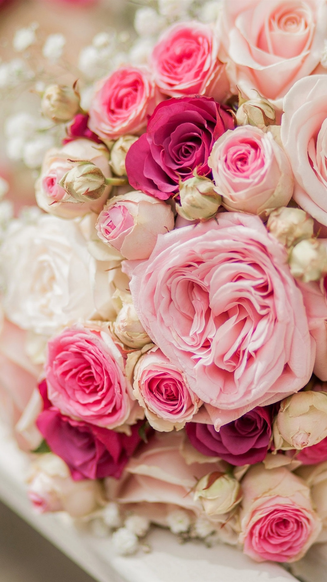 壁紙 ブーケはピンクと白の花 バラ ベンチ 3840x2160 Uhd 4k 無料の