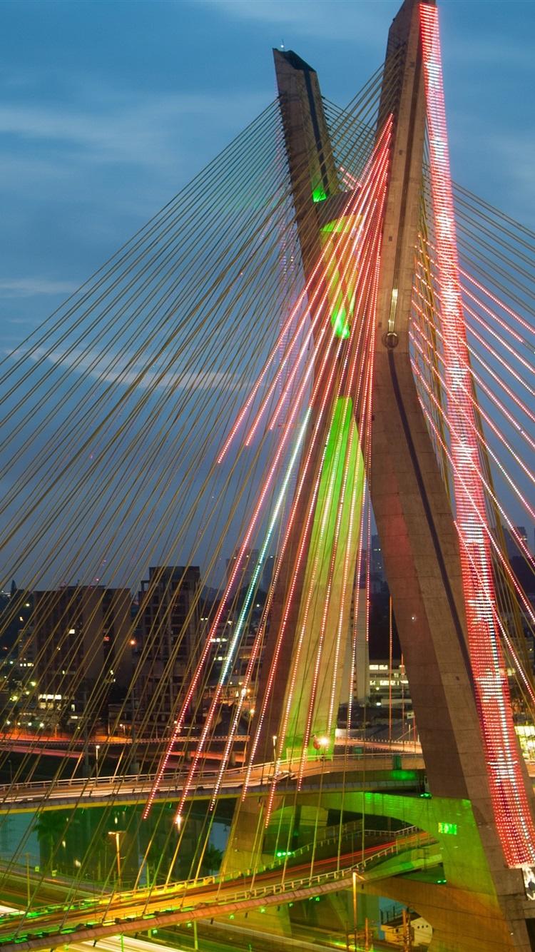 Обои sao paulo, мосты, Бразилия. Города foto 8