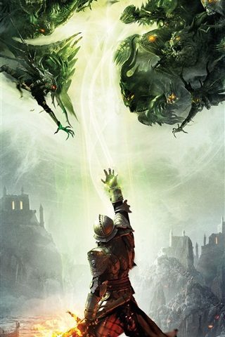iPhone Wallpaper Dragon Age: Inquisition