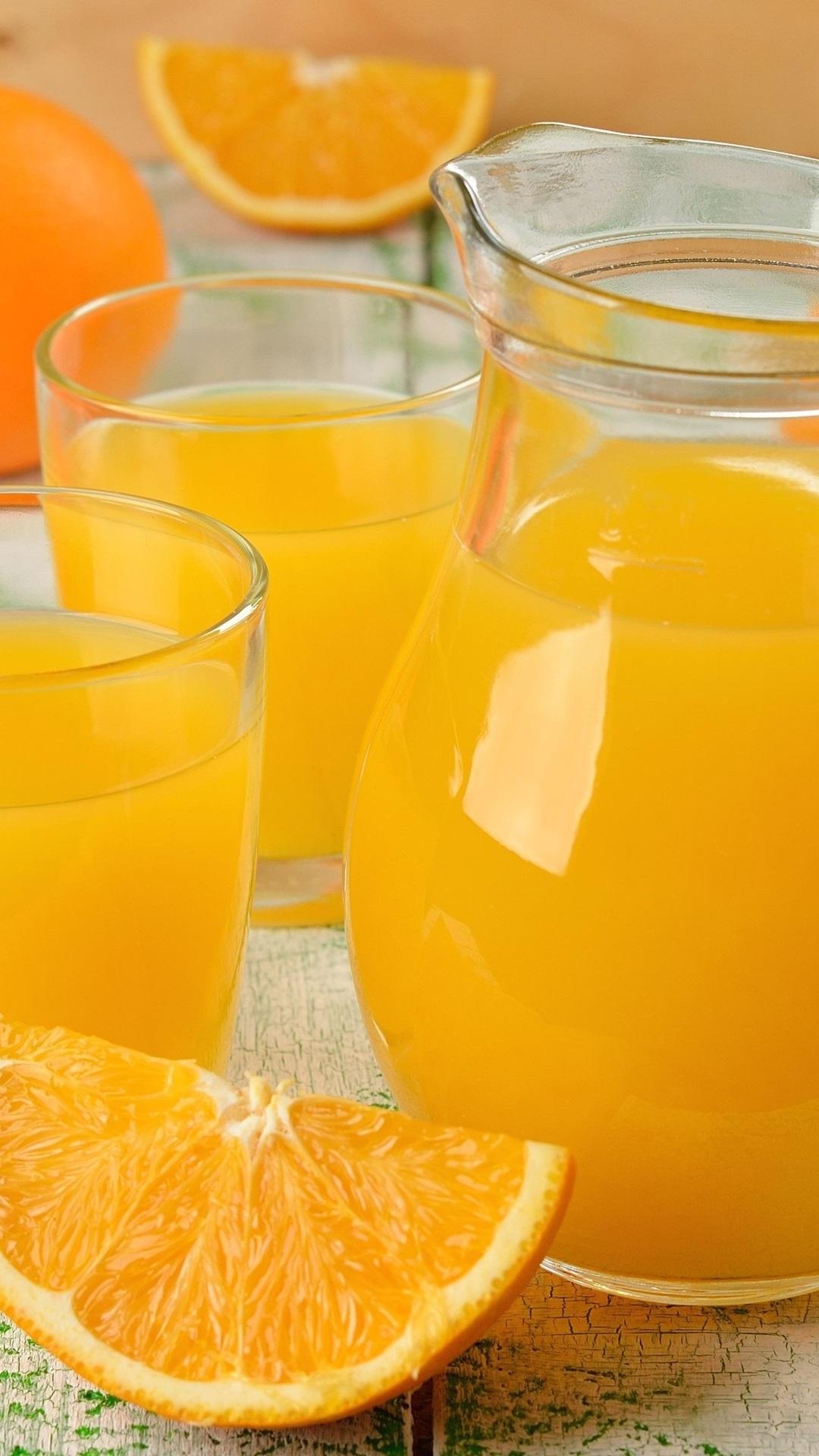 Orange juice fruit