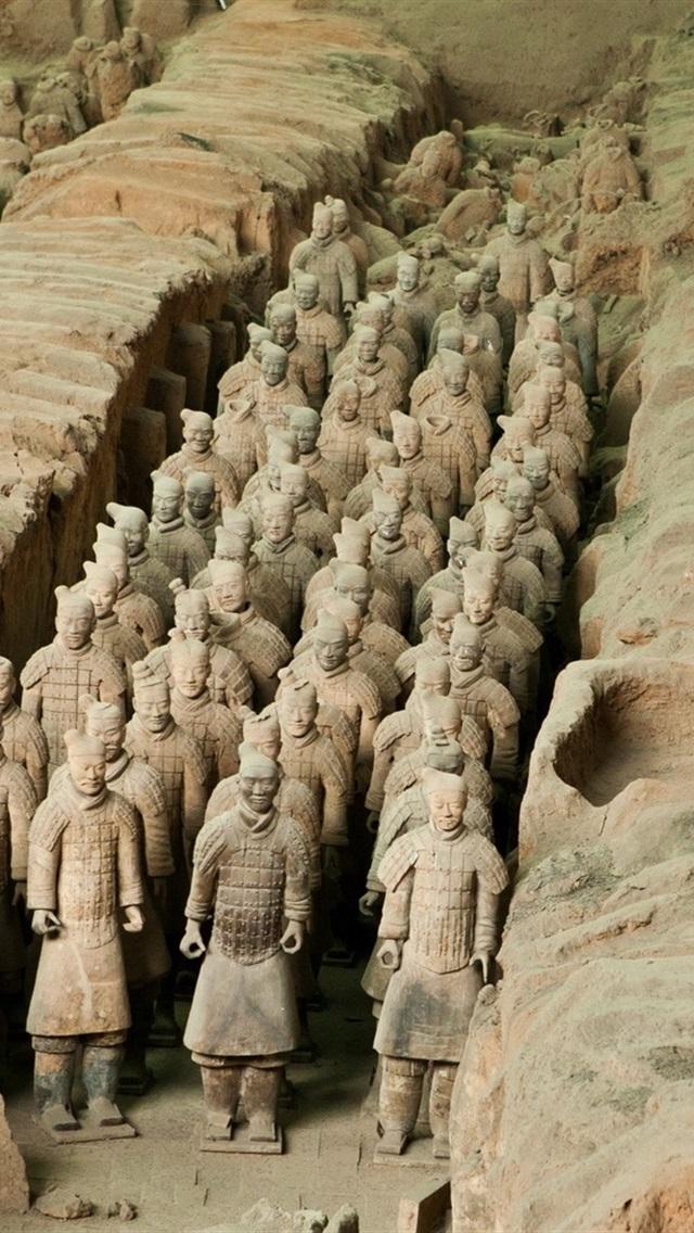 Fonds D Ecran L Armee De Terre Cuite Chine Attractions Culturelles 1920x1200 Hd Image