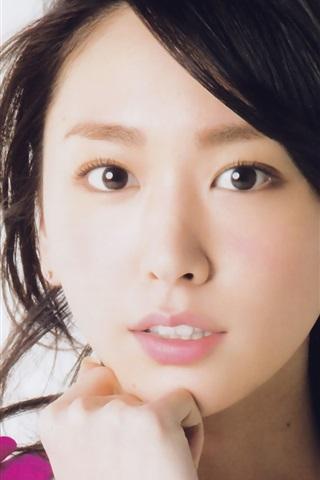 iPhone Wallpaper Aragaki Yui 06